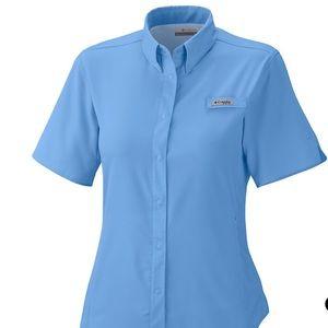 NWT Columbia PFG fishing Shirt sz L
